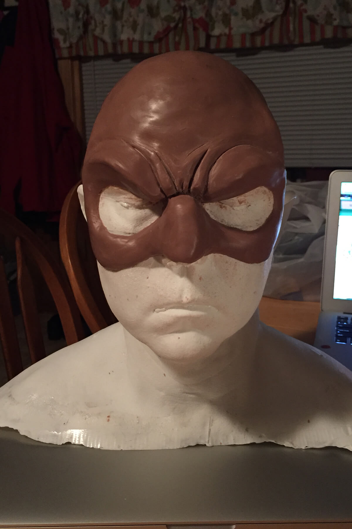 Cobra Commander Face Shield Sculpt