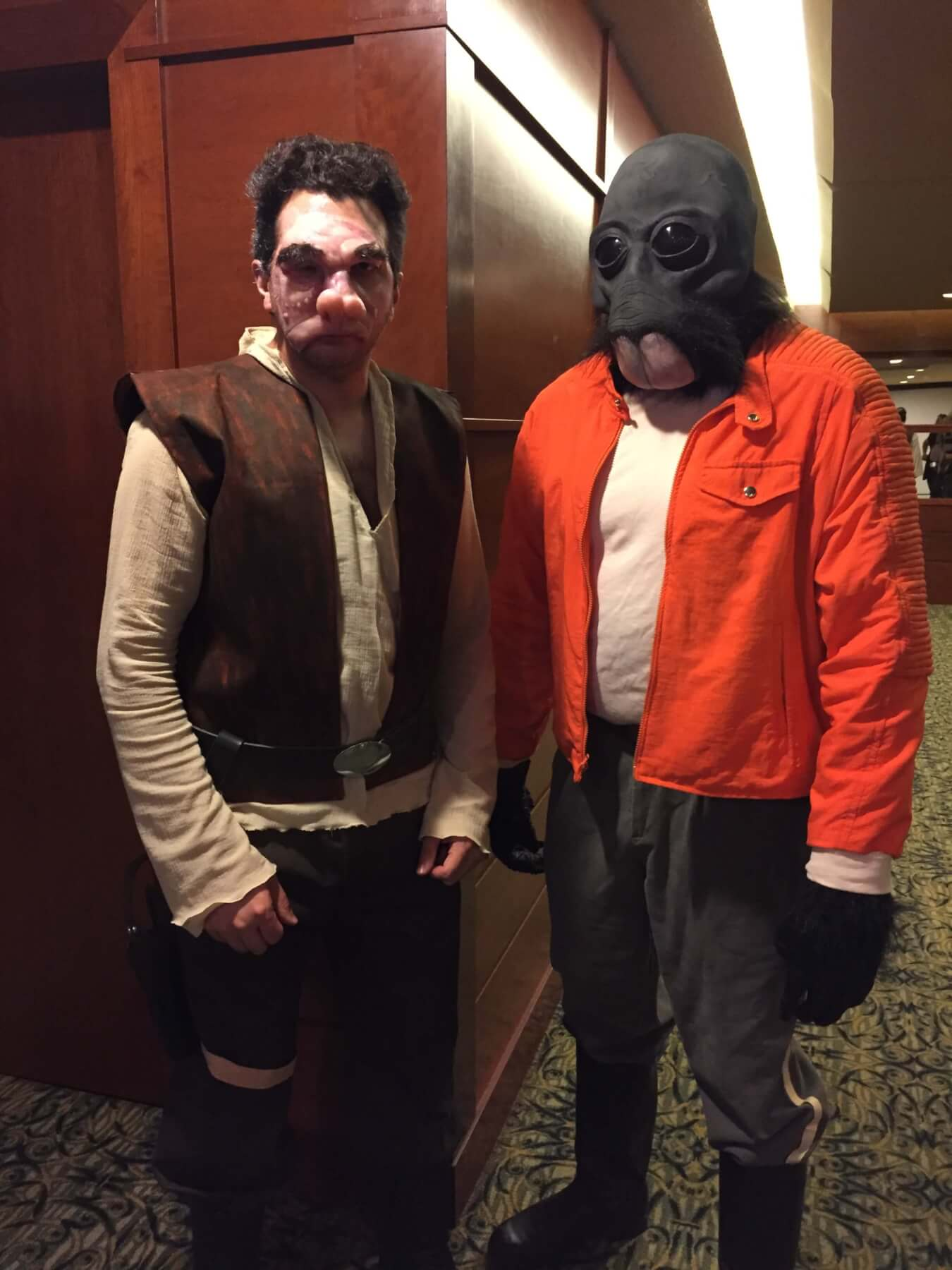 Doctor Evazan and Ponda Baba