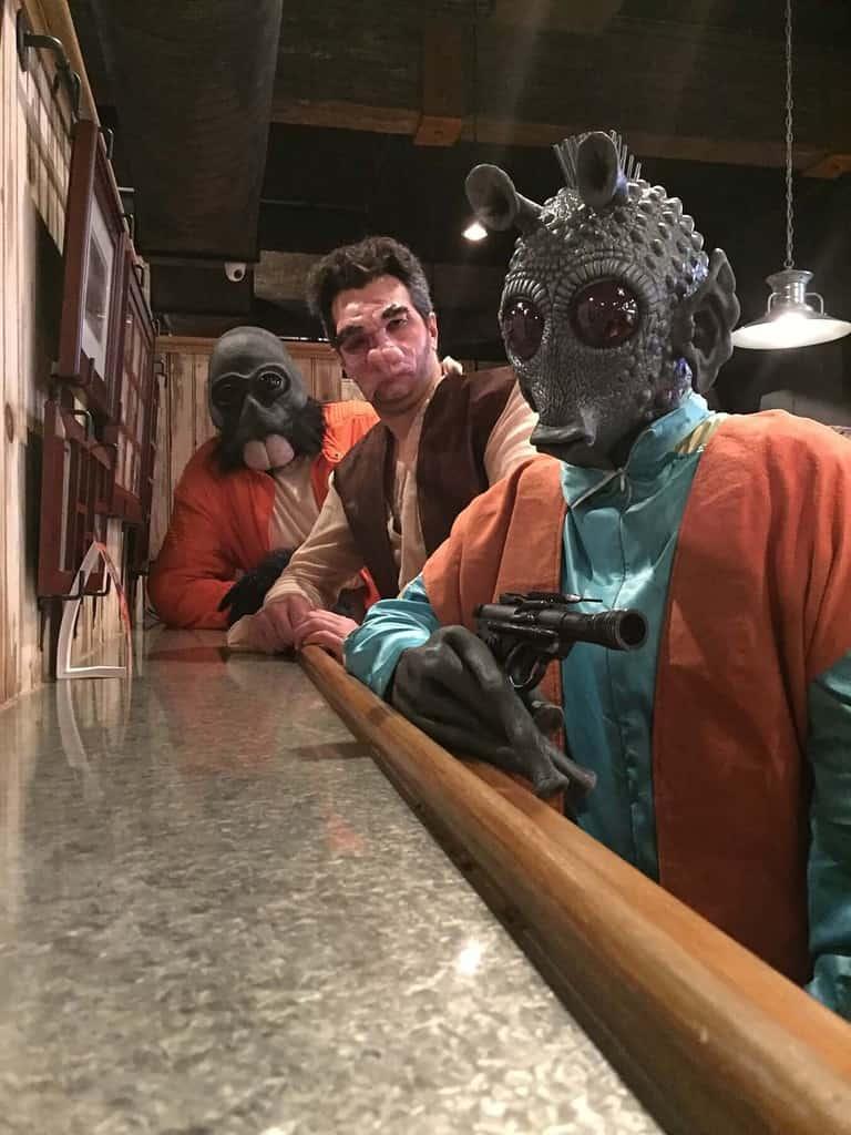 Greedo, Doctor Evazan and Ponda Baba