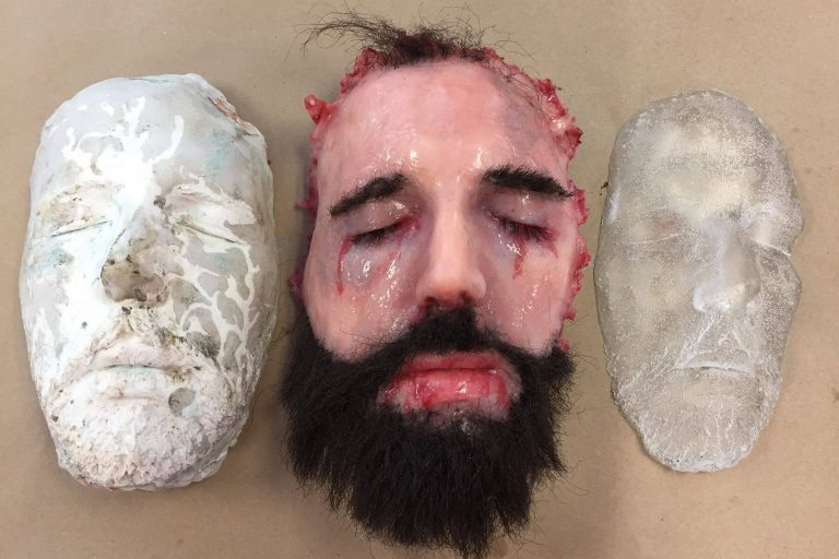Silicone Face Off Prop