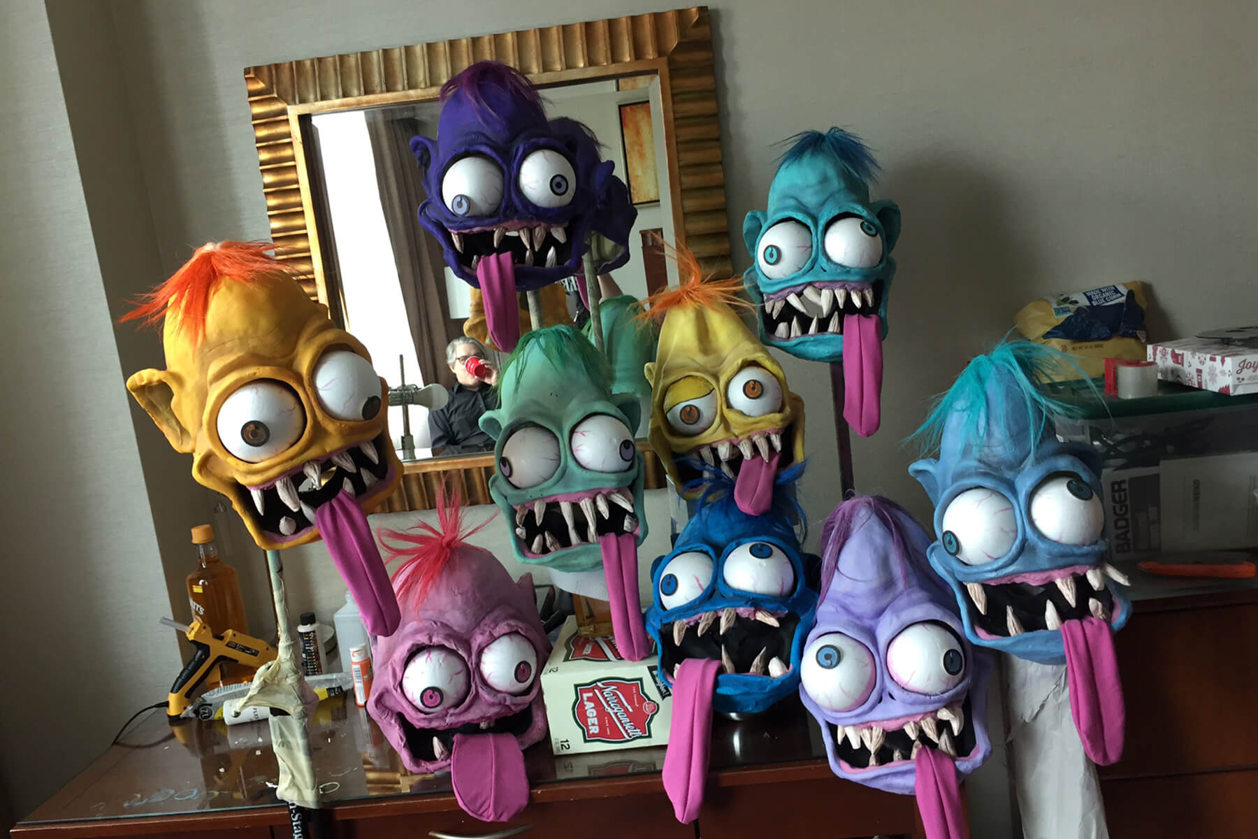 Big Daddy Roth Monster Masks