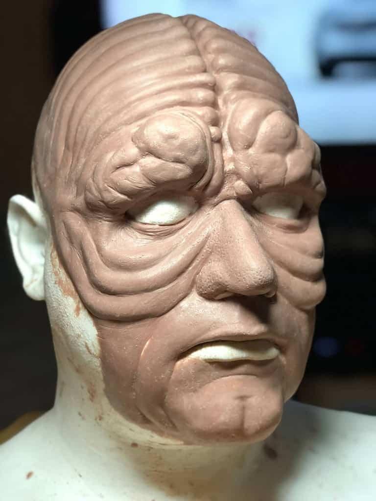 Emperor Palpatine clay sculpt