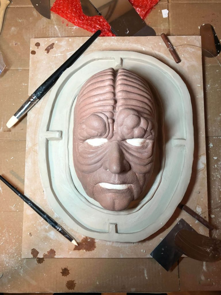 Emperor is ready for molding