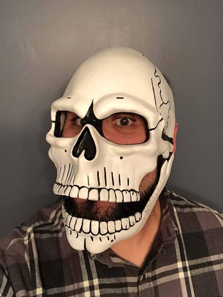 Spectre Day of the Dead Skull Mask